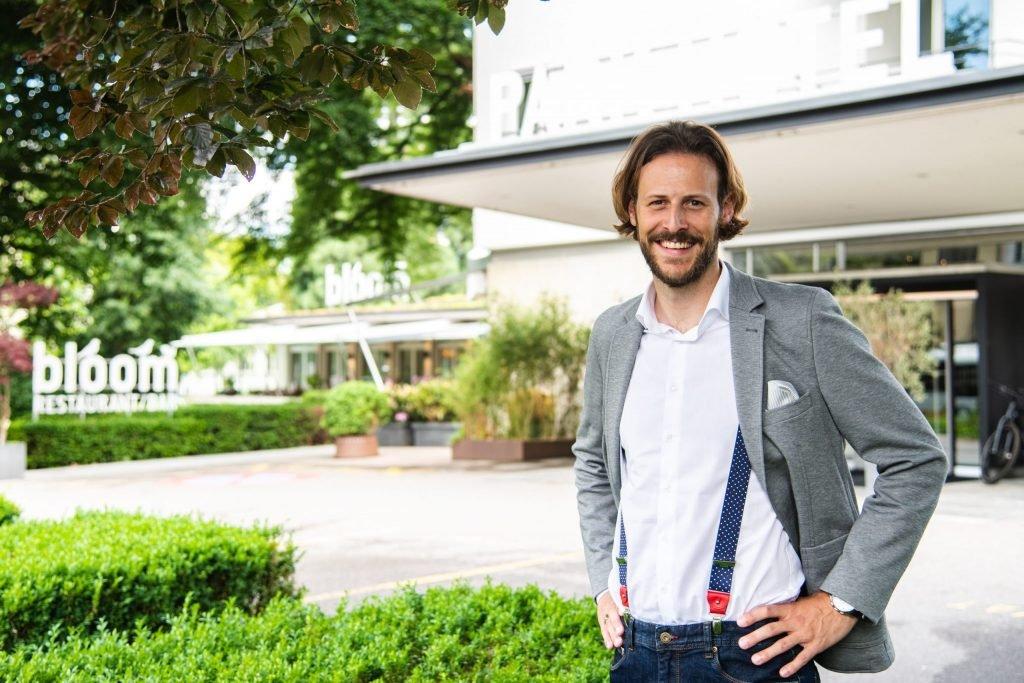 Philipp Albrecht - Direktor und Gastgeber vom Park Hotel Winterthur