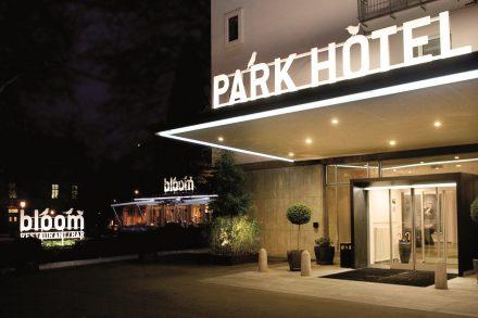 Parkhotel Winterthur in der Nacht