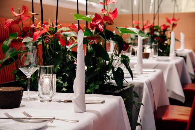 Restaurant Bloom - Elegante Atmosphäre