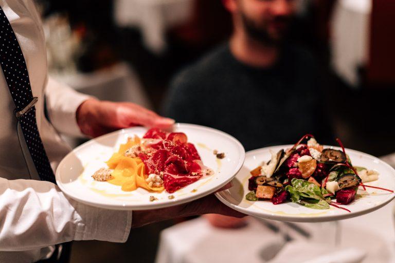 Vorspeisen im Restaurant Bloom Winterthur