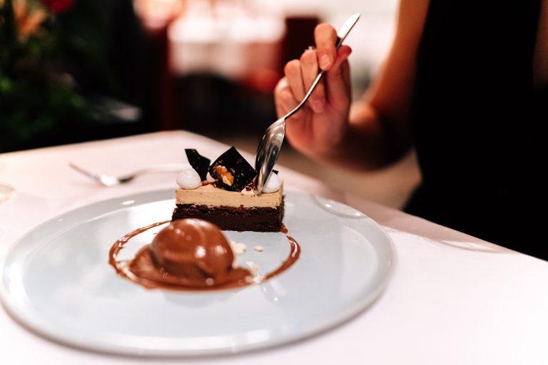 Dessert im Restaurant Bloom Winterthur