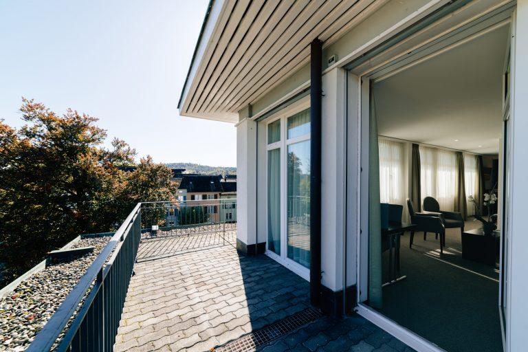 Aussicht - Parkhotel Winterthur