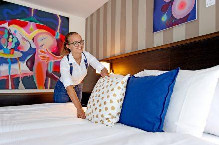 Housekeeping im Parkhotel Winterthur